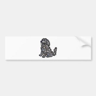 Star_Dog1 Bumper Sticker