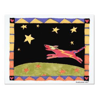 Star dog card