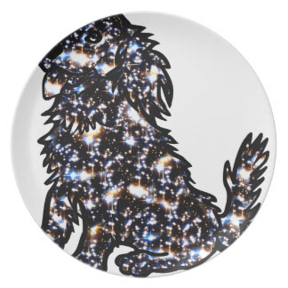 Star_Dog Dinner Plate