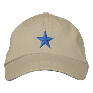 Star Embroidered Baseball Hat