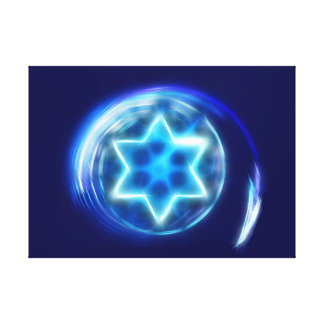 Star Encircled Canvas Print