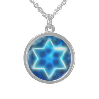 Star Encircled Sterling Silver Necklace
