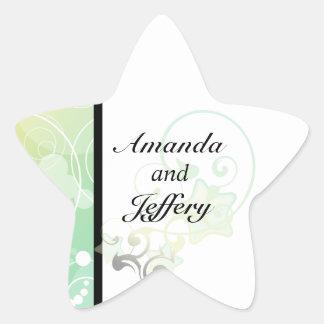 Star Envelope Seal Bubble Star Fairy Tale Sticker