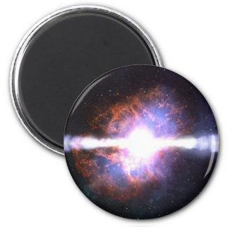 STAR EXPLOSION 2 INCH ROUND MAGNET