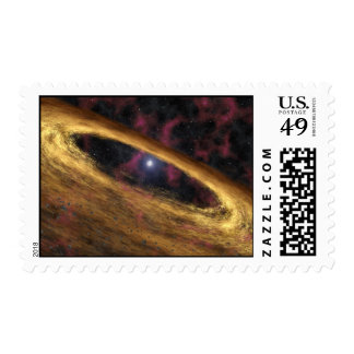 Star Explosion Postage Stamps