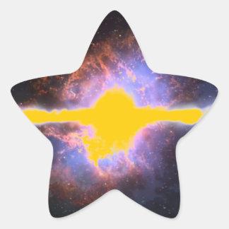 STAR EXPLOSION STAR STICKER