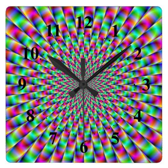 Star Explosion Wall Clock