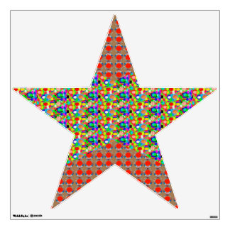 STAR EXQUISITE Color Tone and Jewel by NAVIN Wall Decal