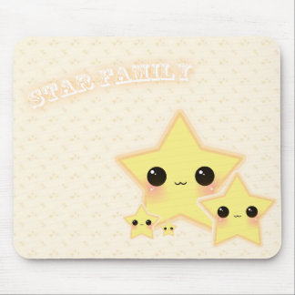 Star Family Mouse Pad