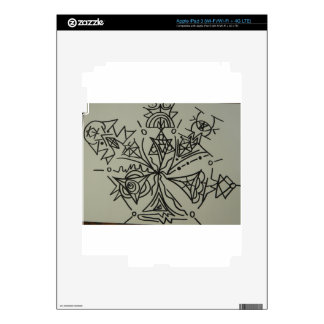 Star Family Starseed Symbol Decals For iPad 3