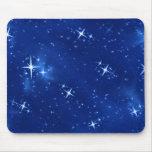 Star Field Blue #1 Mousemat