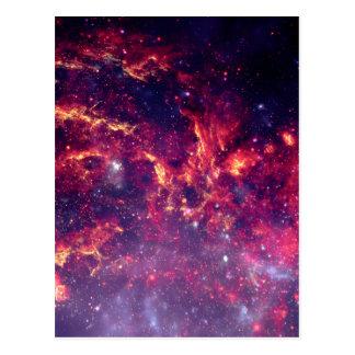 Star Field in Deep Space Postcard