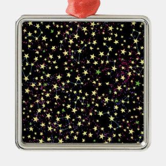 Star Field Metal Ornament