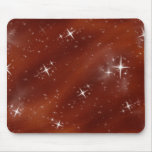 Star Field Red #1 Mousemat