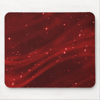 Star Field Red #2 Horizontal Mouse Pad