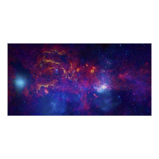 Star Field Star Cluster Gas Dust Supernova Remnant Poster