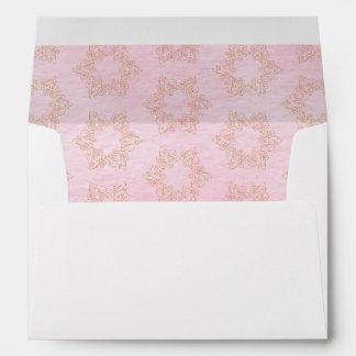 Star Filigree Bat Mitzvah Envelopes