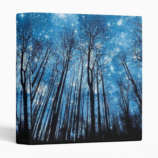 Star Filled Night - Binder