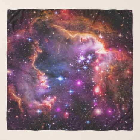 Star-filled Small Magellanic Cloud Wingtip Scarf