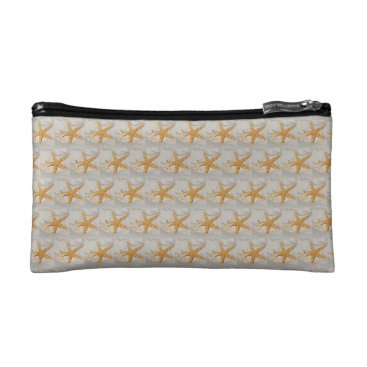 Beach Themed Star Fish at the Beach Cosmetic Bag