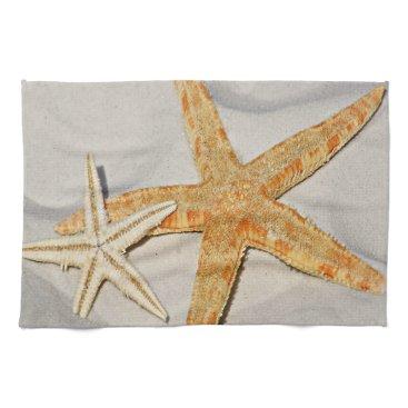 Beach Themed Star Fish at the Beach Hand Towel