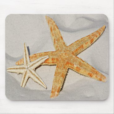 Beach Themed Star Fish at the Beach Mouse Pad