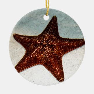 Star Fish Ceramic Ornament