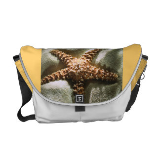 star fish messenger bag