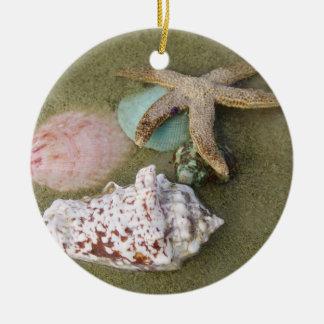 Star Fish N Shells Christmas Tree Ornaments