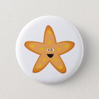 Star Fish Pinback Button