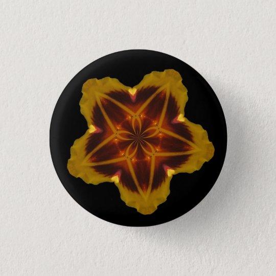 Star Flower Button