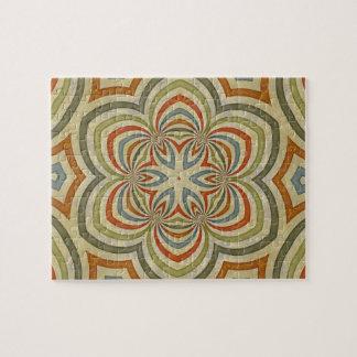 Star Flower Kaleidoscope Mandala Jigsaw Puzzles