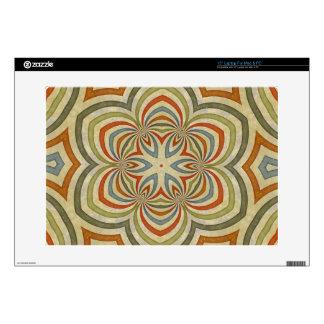"""Star Flower Kaleidoscope Mandala Skins For 15"""" Laptops"""