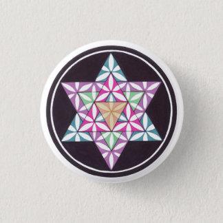 Star Flower Pinback Button