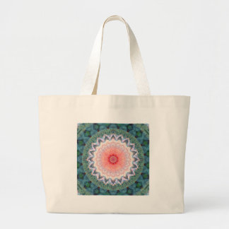 Star flower star February Large Tote Bag