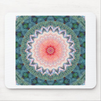 Star flower star February Mouse Pad