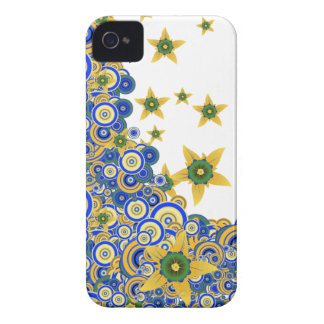 Star Flower Vector iPhone 4/4S Case-Mate iPhone 4 Cases