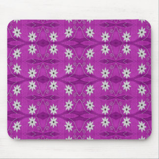 star flowers purple mouse mats