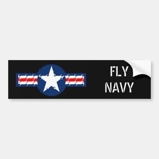 star, FLYNAVY Bumper Sticker