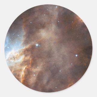 Star formation classic round sticker