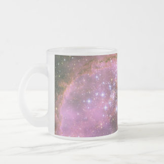 Star Formation Cluster NGC 346 Frosted Glass Coffee Mug