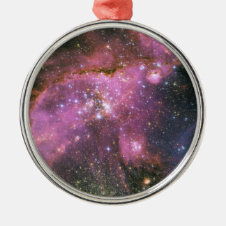 Star Formation Cluster NGC 346 Metal Ornament