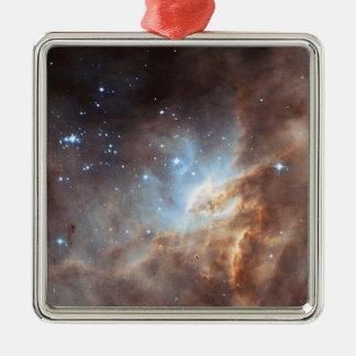 Star formation metal ornament
