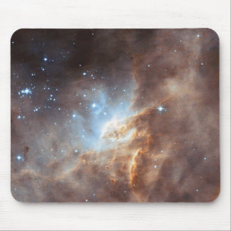 Star formation mouse pad