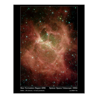 Star Formation Region DRS – Spitzer Telescope Posters