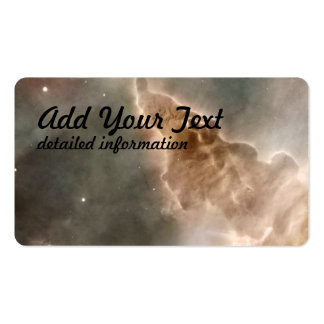 Star-Forming Region in the Carina Nebula- Detail 2 Double-Sided Standard Business Cards (Pack Of 100)