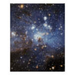 Star-Forming Region LH 95 Perfect Poster
