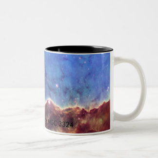 Star-Forming Region NGC 3324 Two-Tone Coffee Mug