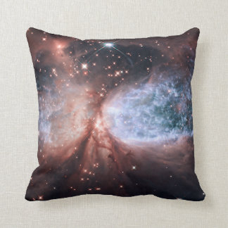 Star Forming Throw Pillow