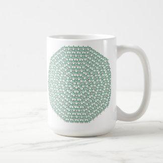 STAR FOUNT CLASSIC WHITE COFFEE MUG